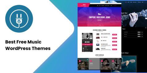 20+ Best Free Music WordPress Themes