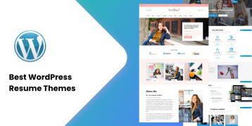 30+ Best WordPress Resume Themes