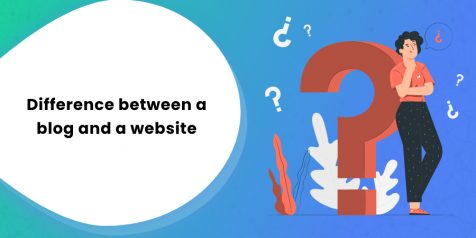 Difference between a blog and a website