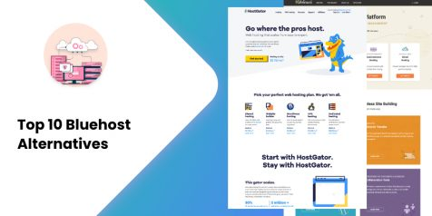 Top 10 Bluehost Alternatives