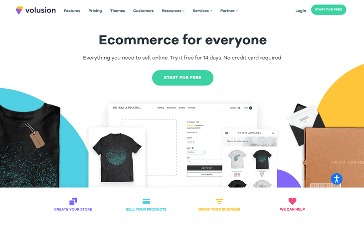 Volusion Ecommerce Website