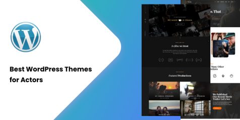 Best WordPress Themes for Actors