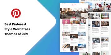 Pinterest Style WordPress