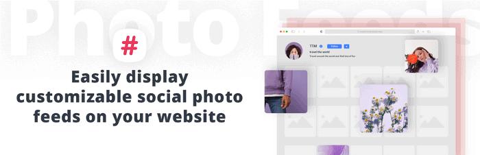 10Web Social Photo Feed WordPress Plugin