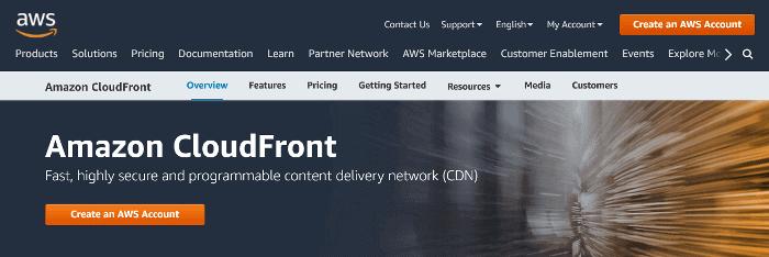 Amazon CloudFront CND Provider