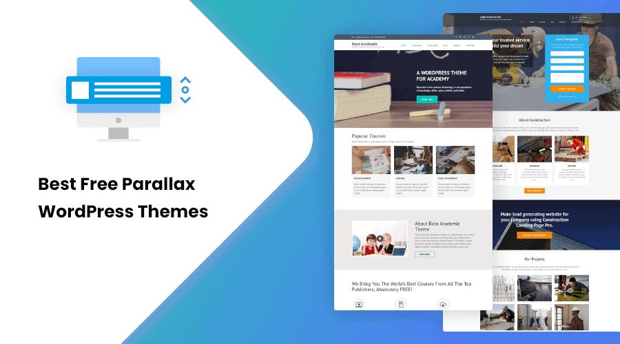 30+ Best Free Parallax WordPress Themes of 2021