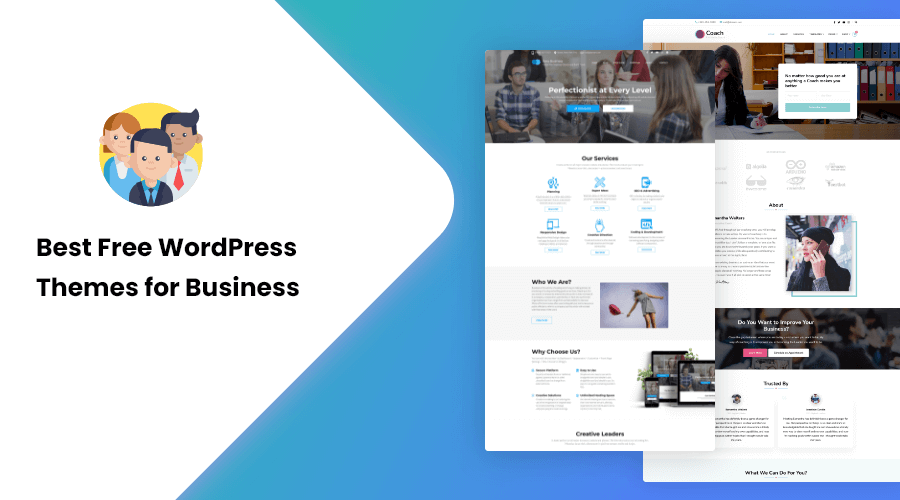 30+ Best Free WordPress Themes for Business in 2021