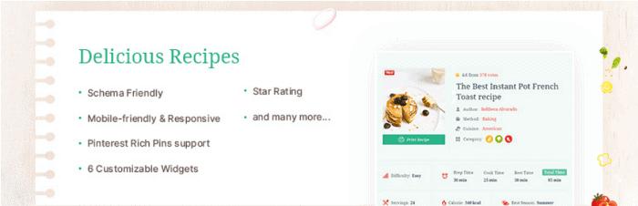 Delicious Recipes WordPress Plugin