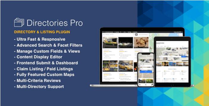 Directories Pro WordPress Plugin