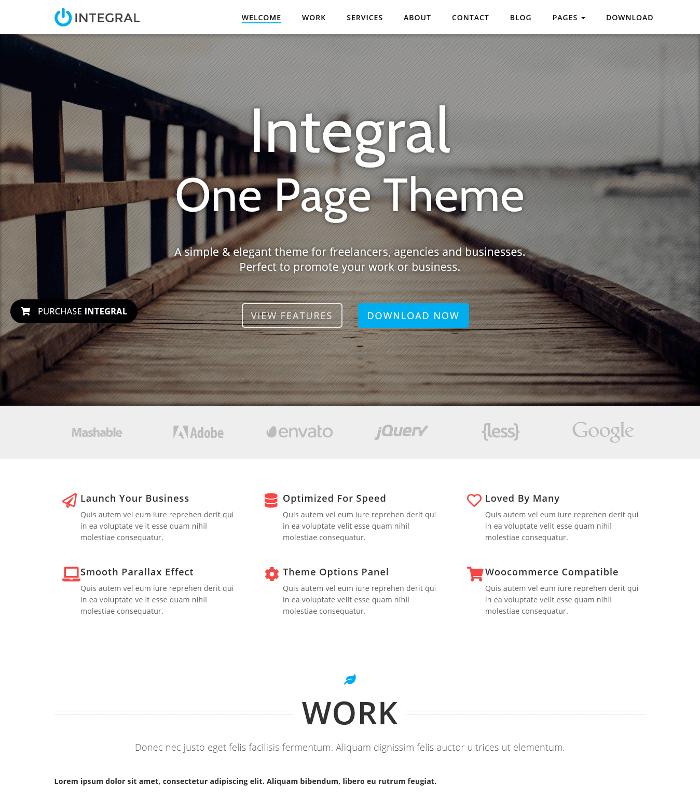 Integral WordPress Theme