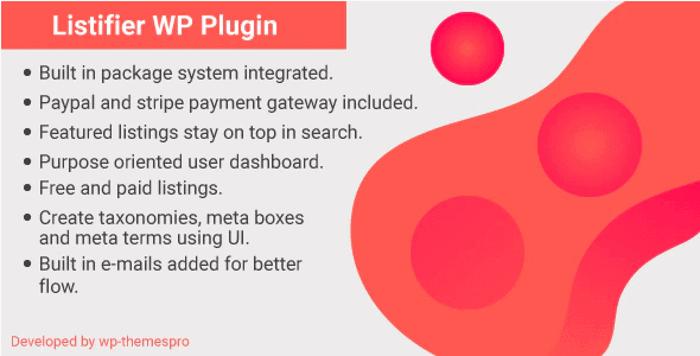Listifier WordPress Plugin