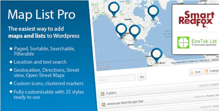 Map List Pro WordPress Theme