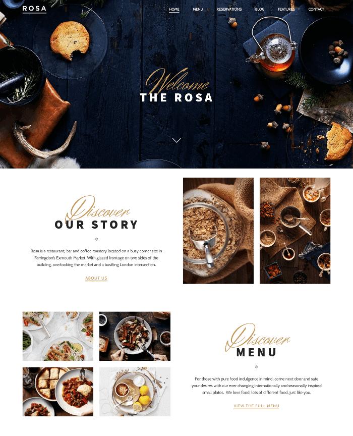 Rosa Lite WordPress Theme
