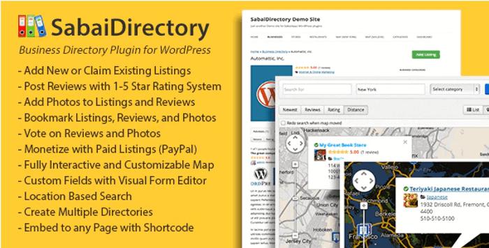 Sabai Directory WordPress Plugin
