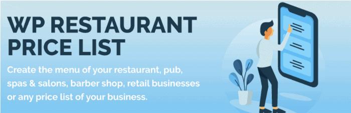 WP Restaurant Price List WordPress Plugin