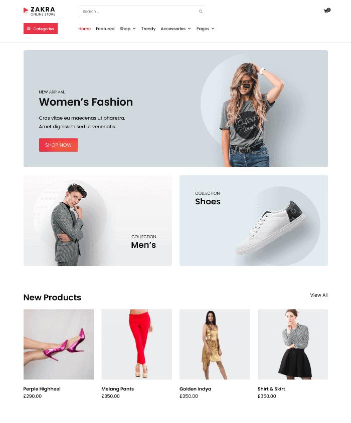 Zakra Online Store WordPress Theme