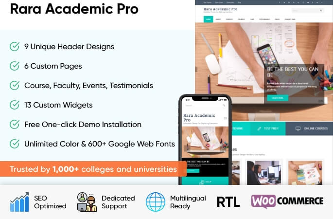 Rara Academic Pro
